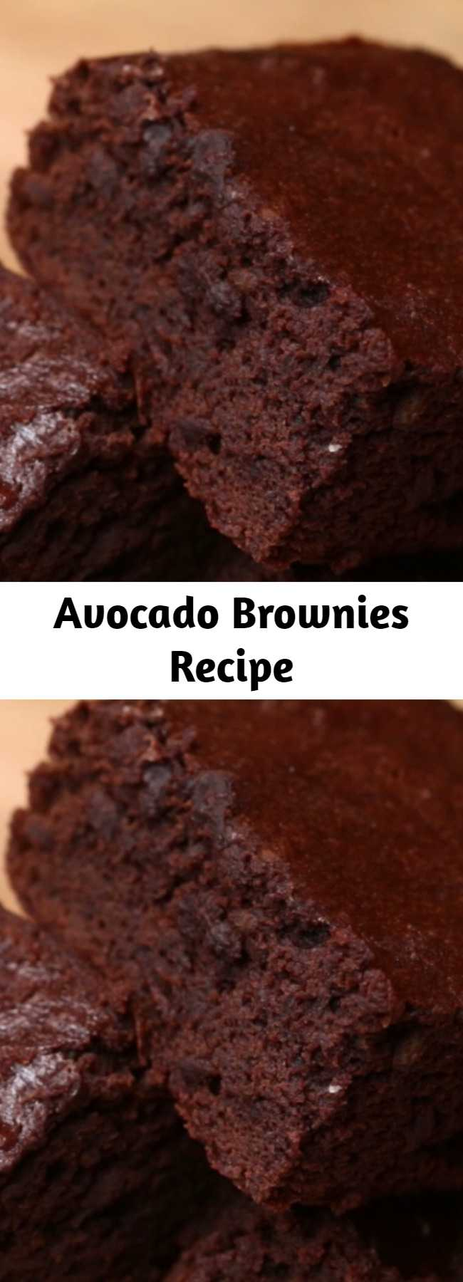 Avocado Brownies Recipe - They're pretty decent healthy brownies! They've got a good fudgy texture and most people thought the taste was pretty good too. Apparently you can swap butter with avocado and still get delicious, healthier brownies!
