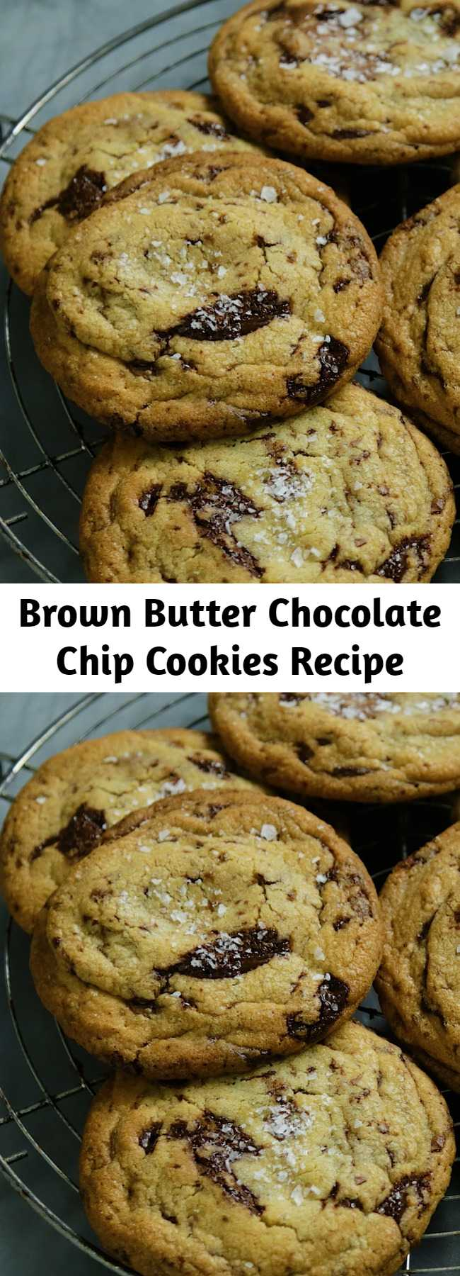 Brown Butter Chocolate Chip Cookies Recipe - Your new go-to chocolate chip cookie recipe.