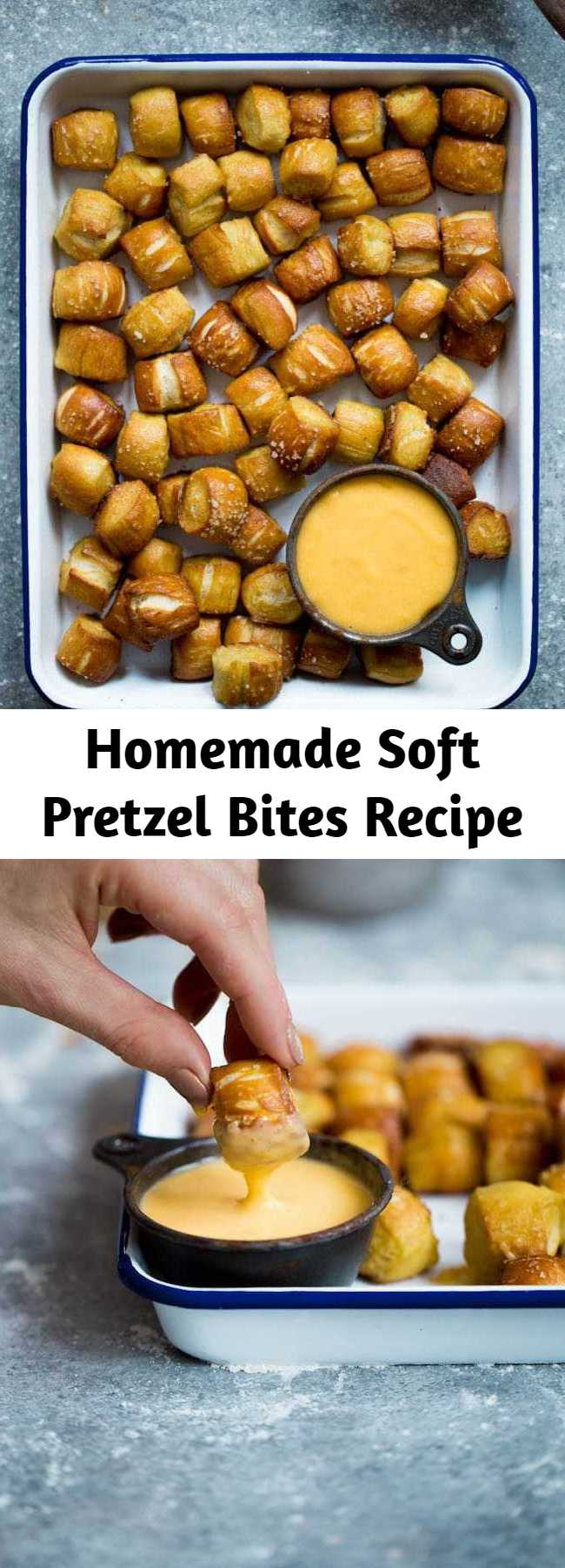 Homemade Soft Pretzel Bites Recipe - Homemade Soft Pretzel Bites-these little pretzel bites are fun to make at home and are great for parties and game day!