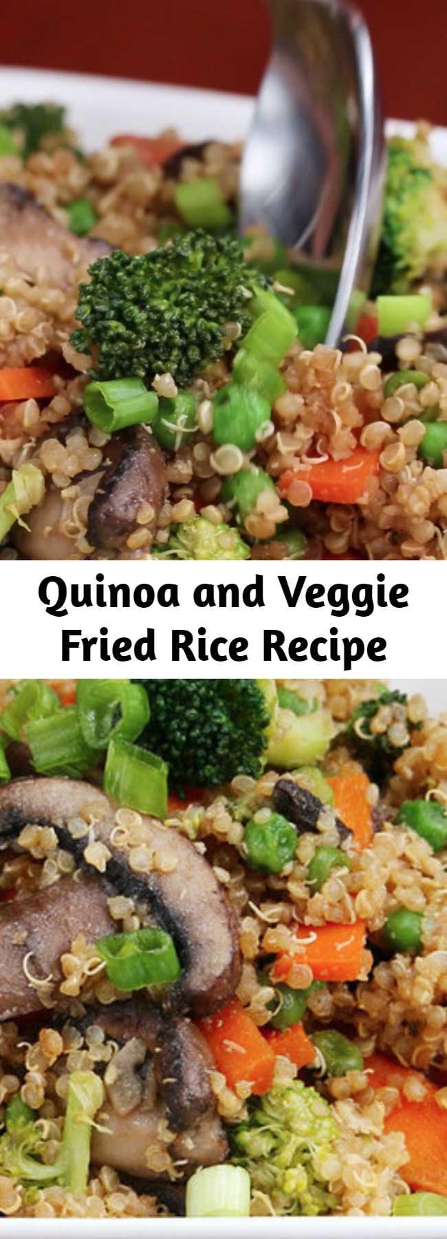 Quinoa and Veggie Fried Rice Recipe