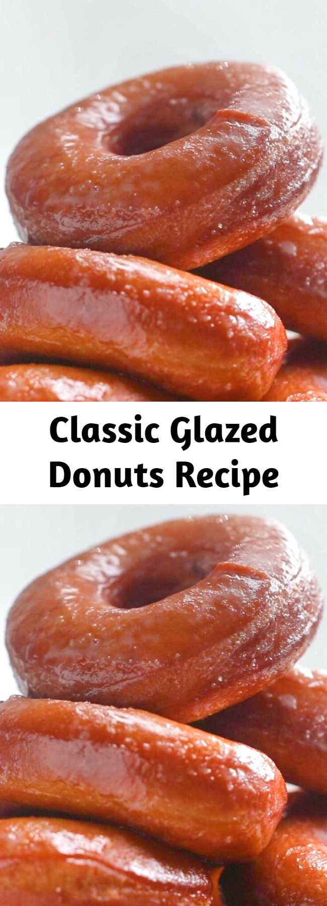 This Classic Glazed Donuts recipe makes light and fluffy donuts that are truly the best donuts I've ever eaten. They're my absolute favorite! Homemade doughnuts are a bit of a project, but they're less work than you might think, and the result is a truly great, hot, crisp doughnut.