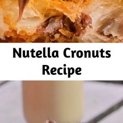 Deep-fried to golden perfection and stuffed with Nutella — what more could you want in a cronut?