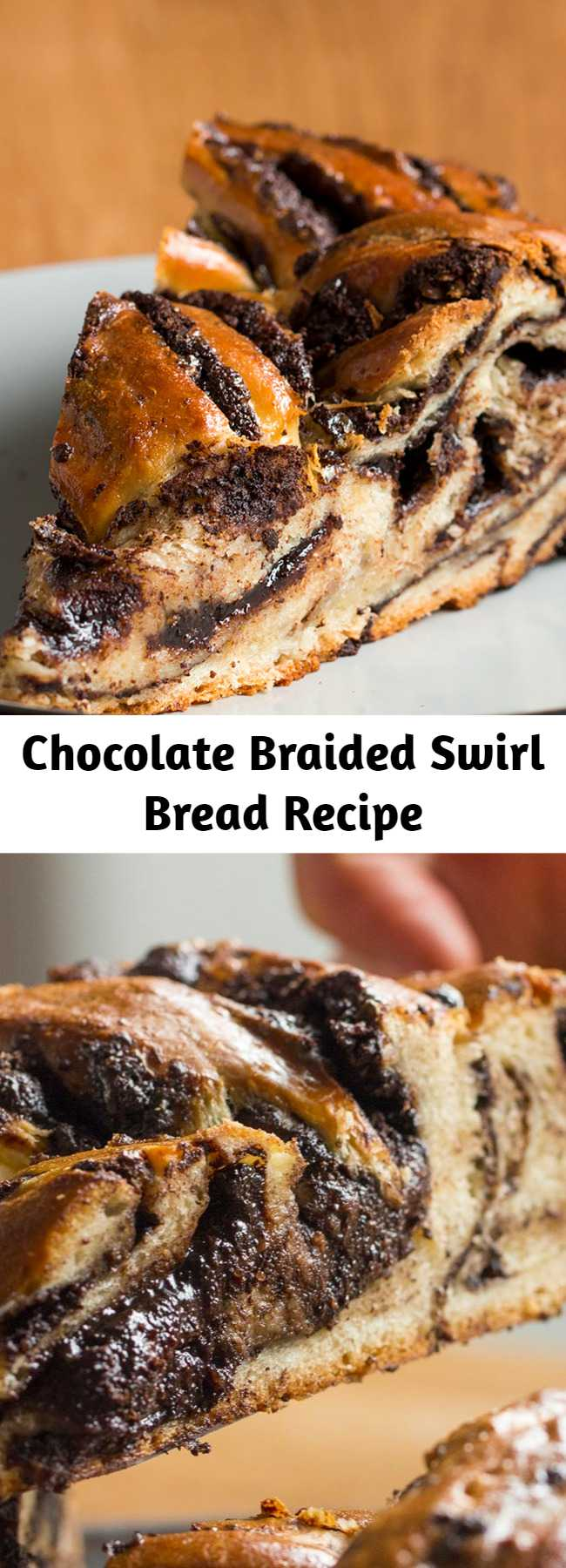 Chocolate Braided Swirl Bread Recipe (Babka)