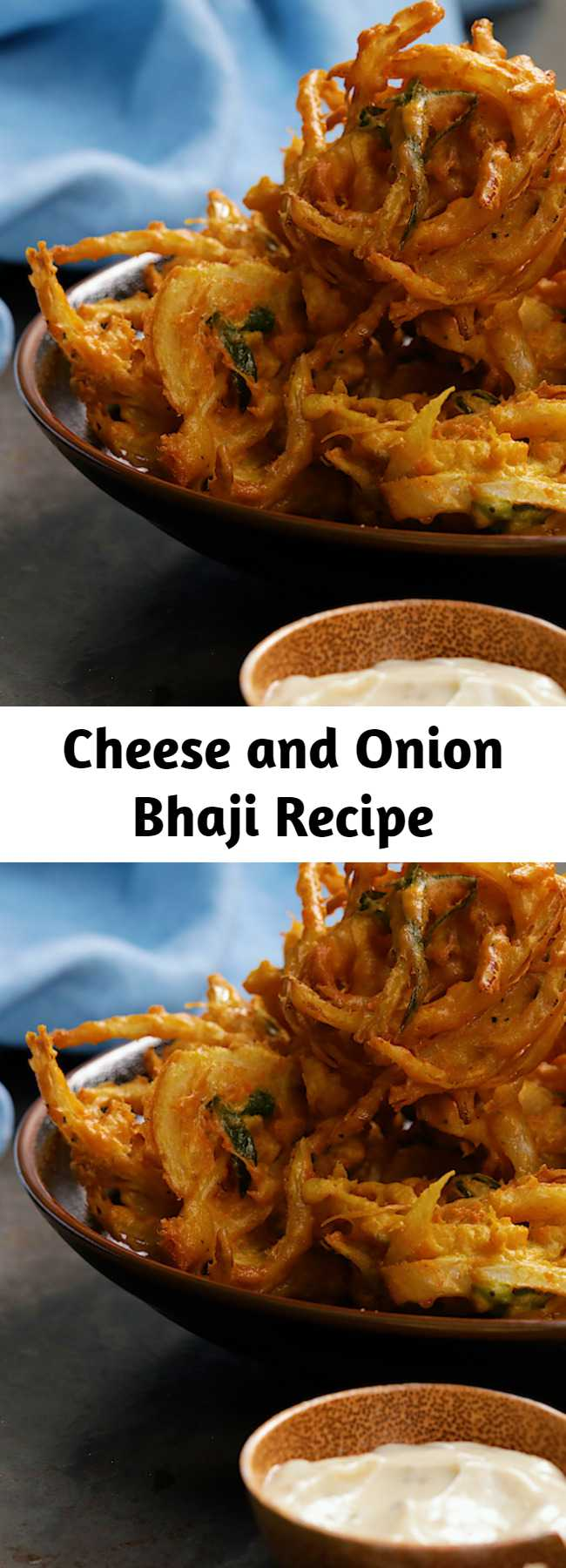 Cheese and Onion Bhaji Recipe - The only cheese and onion bhaji recipe you'll ever need!