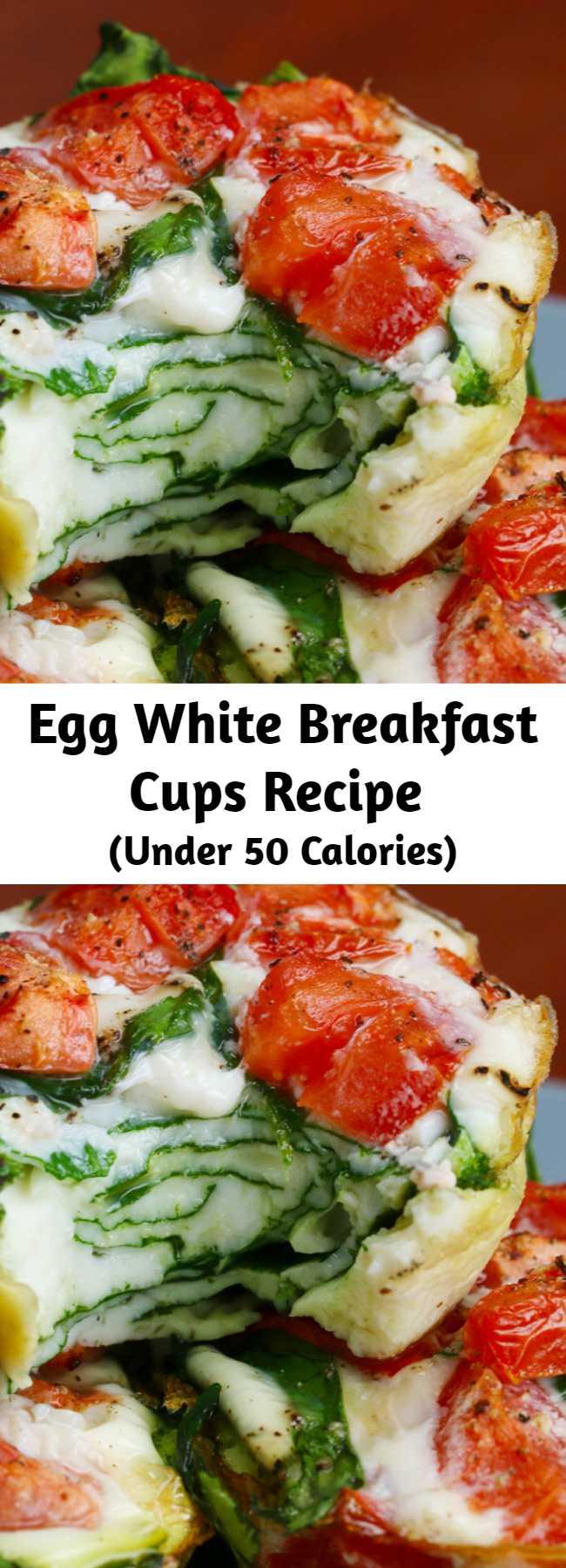 Egg White Breakfast Cups Recipe - Egg White Breakfast Cups