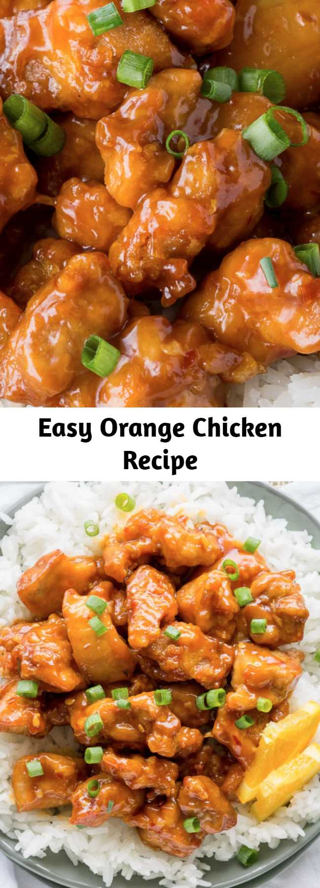Easy Orange Chicken Recipe - If you're a fan of the famous Panda Express Orange Chicken, then this homemade version is going to bring a smile to your face. This is the BEST Orange Chicken Recipe on the internet!