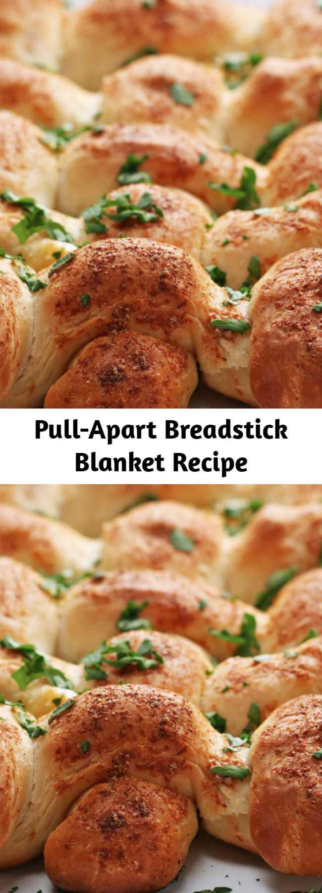 Pull-Apart Breadstick Blanket Recipe