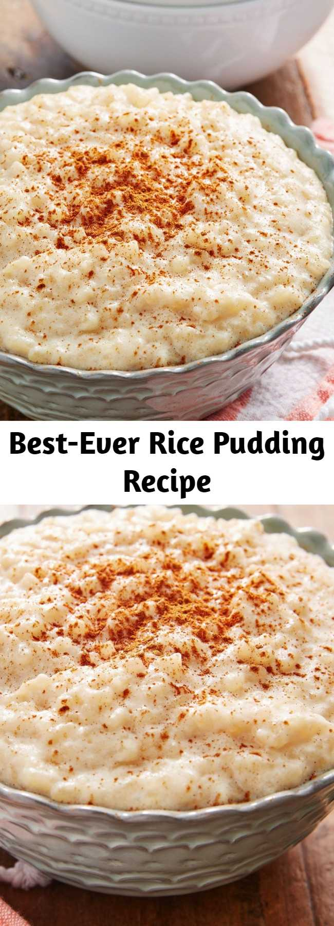 Best-Ever Rice Pudding Recipe - This cozy Rice Pudding is perfect for dessert or a sweet breakfast.