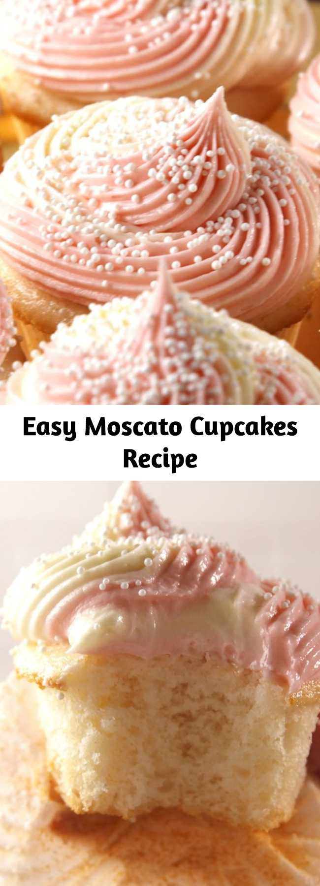 Easy Moscato Cupcakes Recipe - Screw shots — throw a few of these Moscato Cupcakes back this weekend. Cheers!