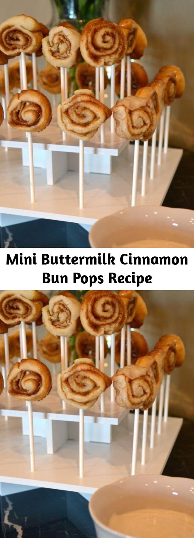 Mini Buttermilk Cinnamon Bun Pops Recipe