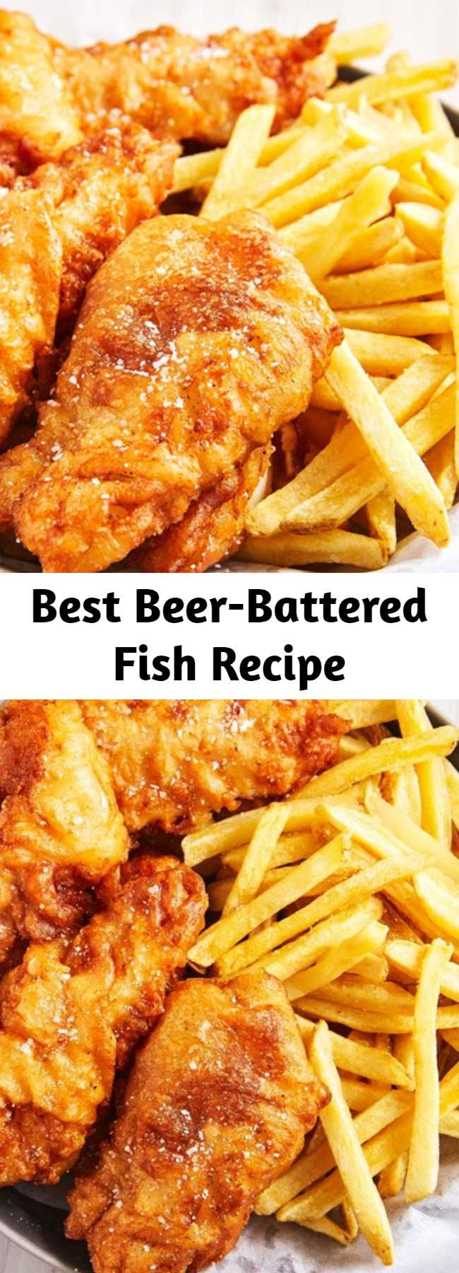 Best Beer-Battered Fish Recipe - There's nothing super crazy about this recipe, but when you do it right, it's absolutely perfect.