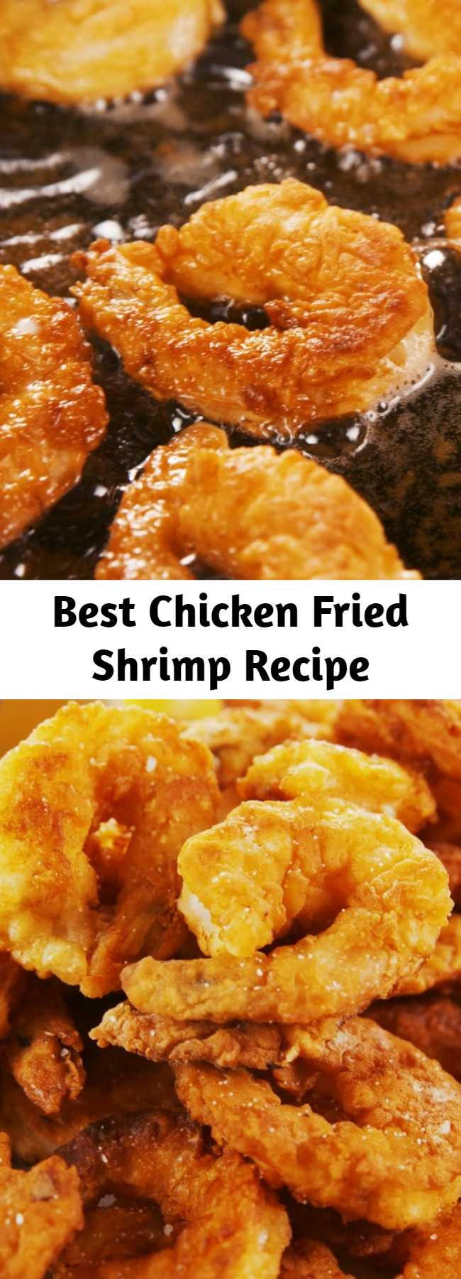 Best Chicken Fried Shrimp Recipe - If you can make chicken fried steak, you can make chicken fried anything — including shrimp. Though it's certainly not healthy, this won't leave you wanting to take a nap all day afterwards as steak would.