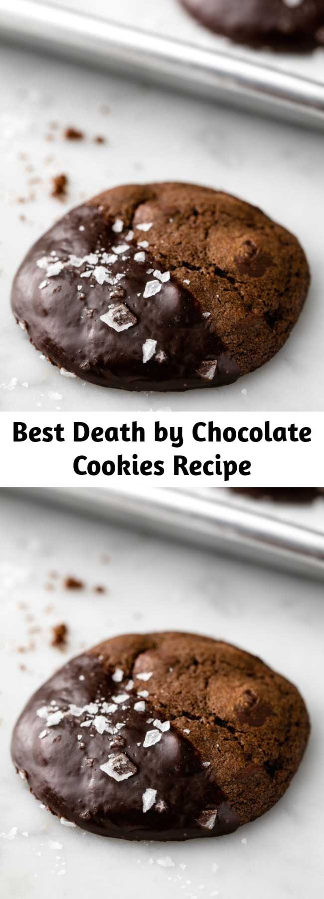 Best Death by Chocolate Cookies Recipe - You've been warned—these death by chocolate cookies are deadly.