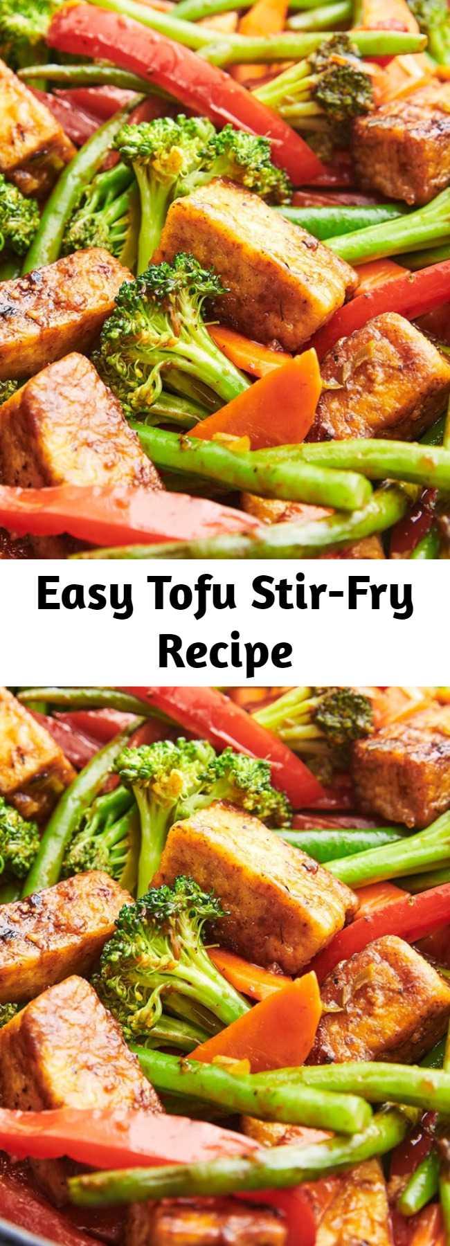 Easy Tofu Stir-Fry Recipe