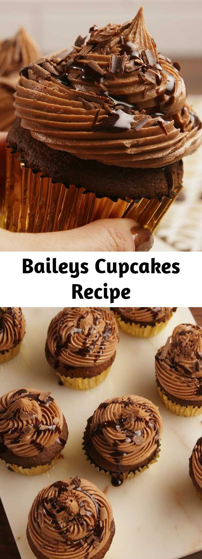 Baileys Cupcakes Recipe - These cupcakes are perfect for Baileys lovers. All cupcakes should be boozy.