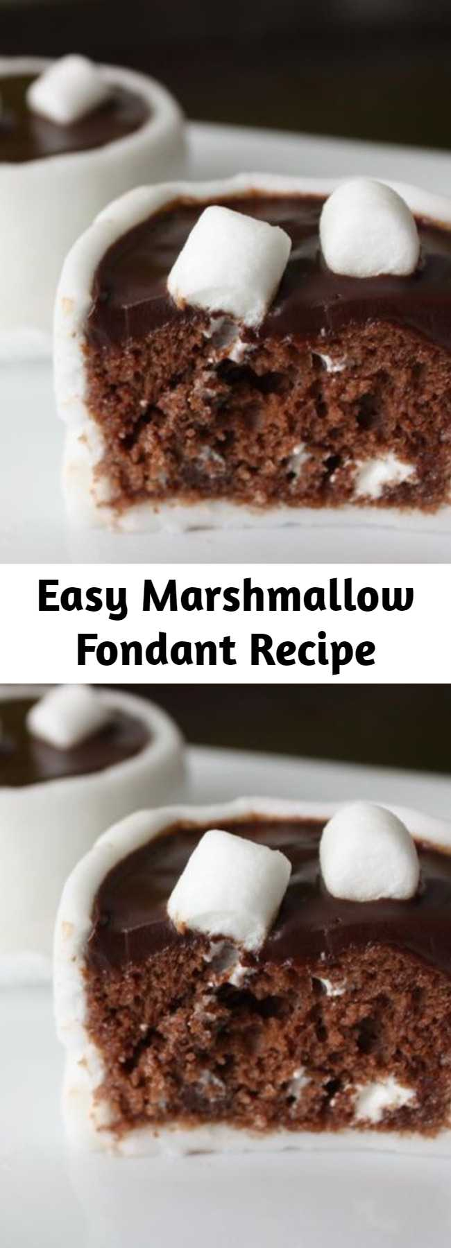 Easy Marshmallow Fondant Recipe - This is a very easy (and a little sticky at times) way to make a delicious fondant. It's great on cakes, cookies, or just for your little ones to play with! Leftovers will save in a tightly sealed container for a few weeks.