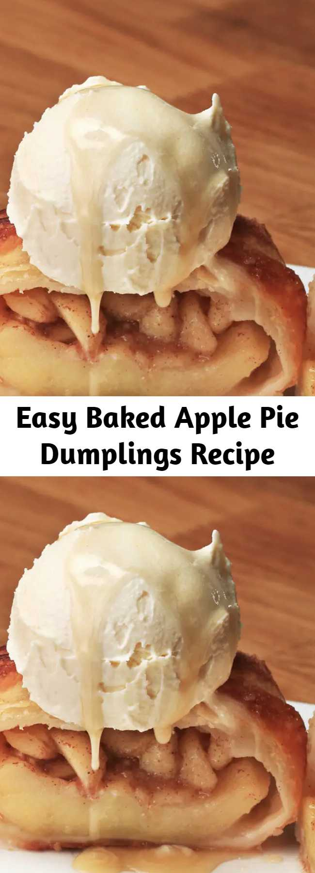 Easy Baked Apple Pie Dumplings Recipe - Snuggle up for Fall with these Apple Pie Dumplings!