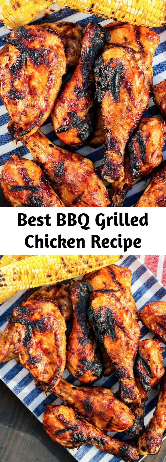 Best BBQ Grilled Chicken Recipe - Grilled chicken breast may not seem like the most exciting meat out there, but this homemade BBQ chicken recipe is affordable, easy, and always crowd-pleasing. Plus, it's healthy!