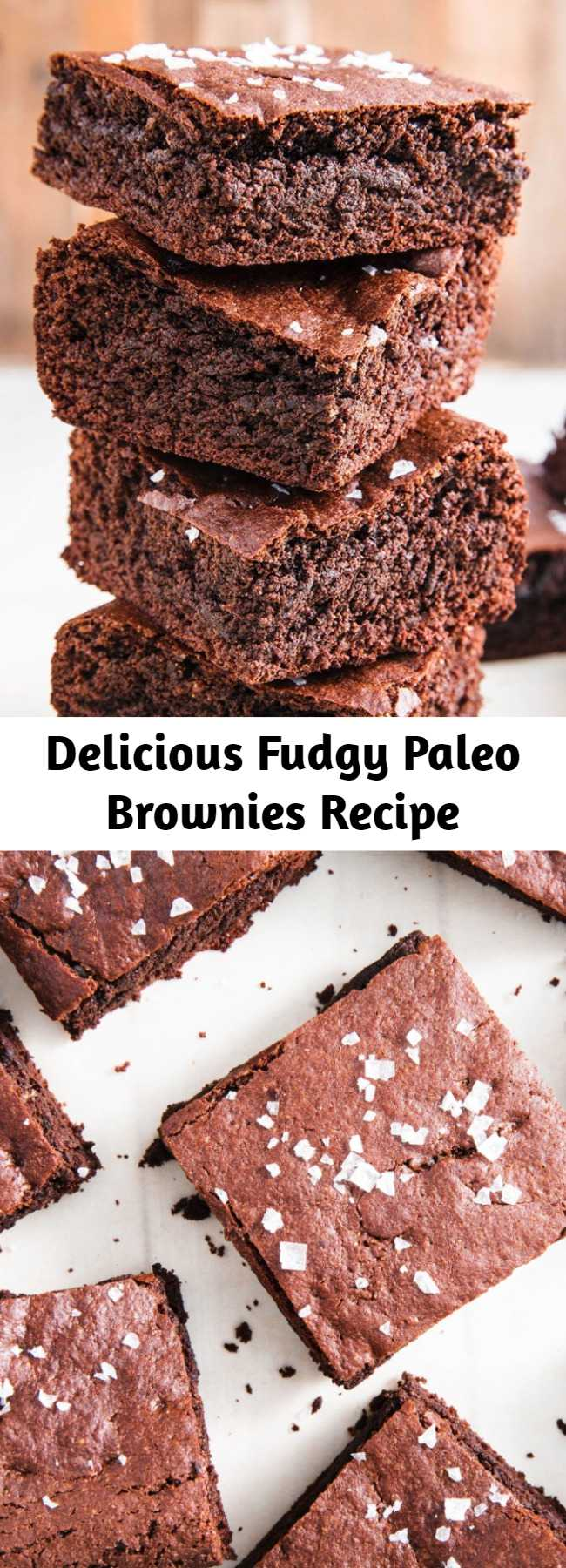 Delicious Fudgy Paleo Brownies Recipe - Yassss, brownies that are totally Paleo! Here's how to make the ultimate paleo-friendly dessert. Made with almond flour, almond butter, and coconut sugar, these Paleo Brownies are delicious. These are more than just an alternative, but a delicious brownie that also happens to be Paleo approved!